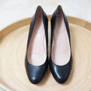 CK 6.5M EUC Black Soft Leather Pumps High heel